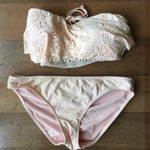 Peach bikini